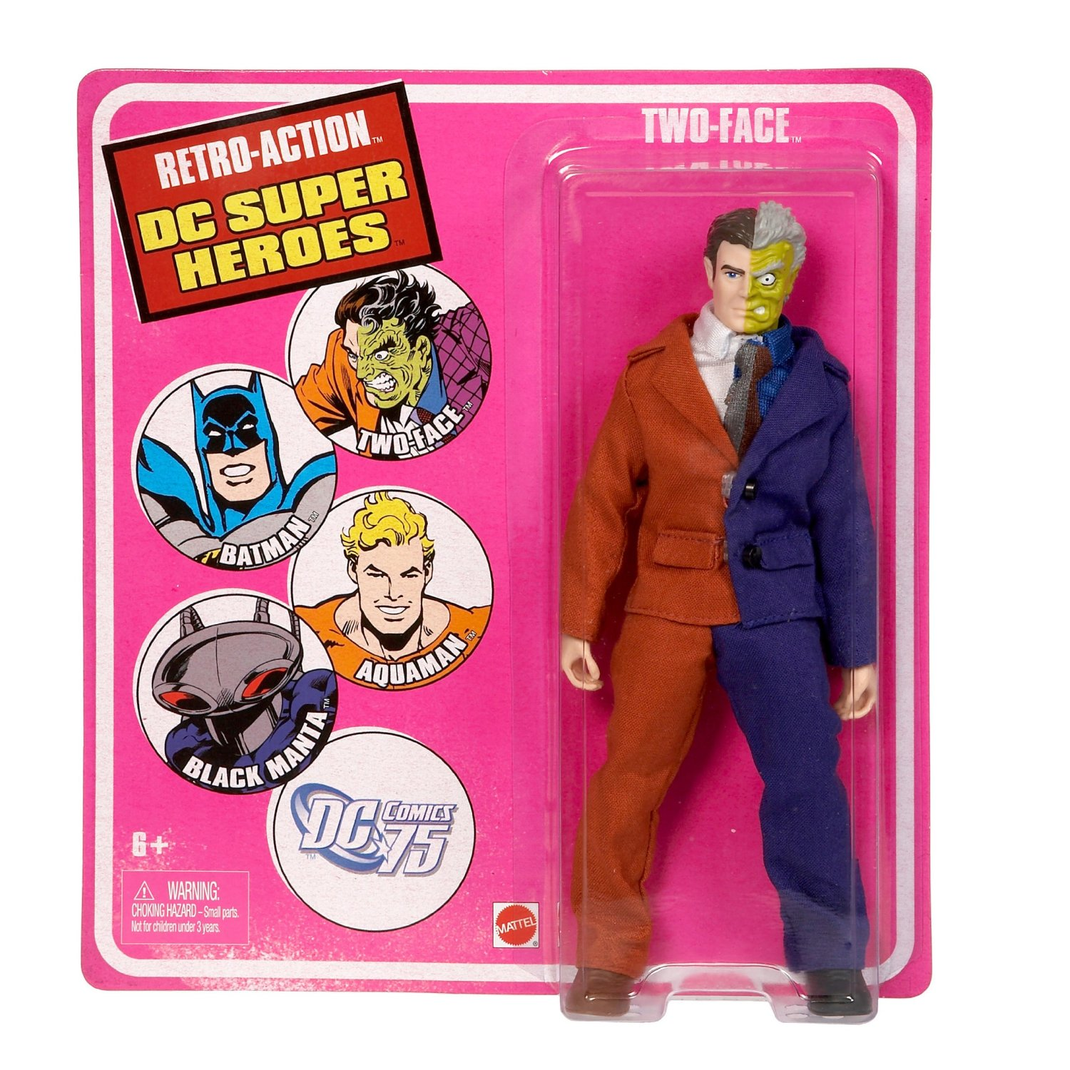 Two Face Retro Action DC Super Heroes Figure