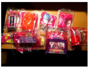 iCarly 2011 McDonalds Happy Meal Toys Complete Set of 8
