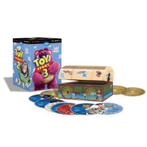 Toy Story 1, 2 and 3 DVD set