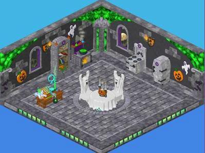 Halloween Webkinz Room Theme