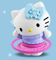 Holiday Fun Hula Hoop Hello Kitty McDonalds Happy Meal Toy