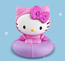 Snow Tubing Hello Kitty McDonalds Happy Meal Toy