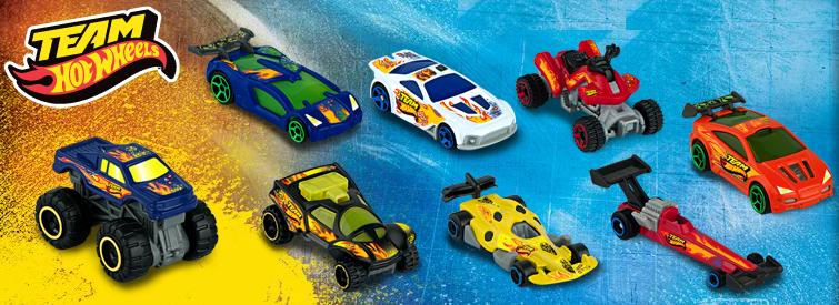 team hot wheel 2012 happy meal toys - Hot Wheels Cars 2012