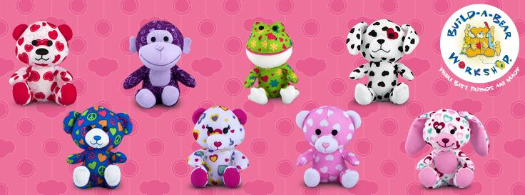 Build a Bear 2012 Happy Meal Toys