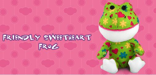 Friendly Sweetheart Frog #6 Build A Bear Workshop 2012 Happy Meal Toy