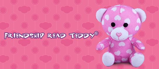 Friendship Read Teddy #7 Build A Bear Workshop 2012 Happy Meal Toy