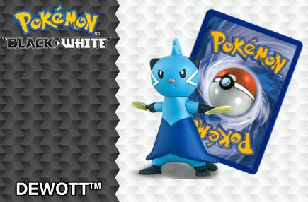 2012 Pokemon Happy Meal Toys Black and White Number 2 Dewott