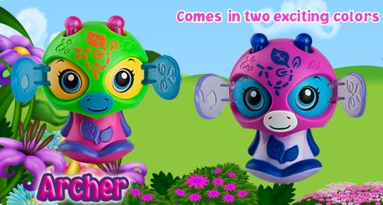 Zoobles-2012-Happy-Meal-Toys-Archer-Number-5