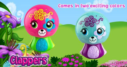 Zoobles-2012-Happy-Meal-Toys-Clappers-Number-2
