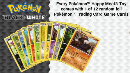 Pokemon Trading Card Game Cards Happy Meal