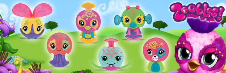 Zoobles Spring To Life 2012 Happy Meal Toys