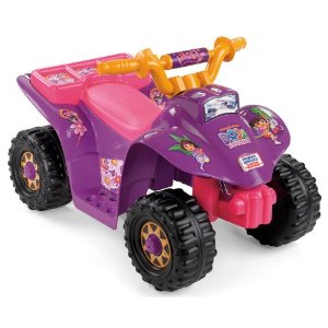 Dora the Explorer Power Wheels Lil Quad